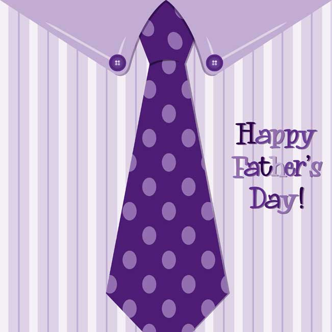 Happy-Father's-Day-Purple-Shirt