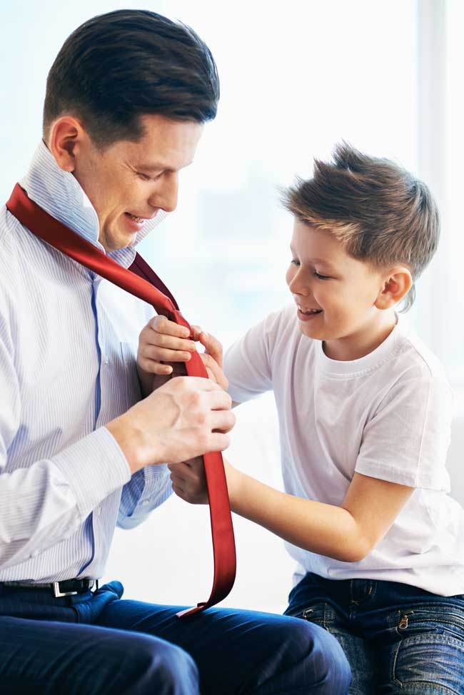 Kid-with-Dad-and-Tie