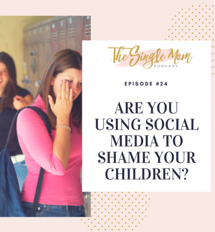 Are You Using Social Media to Shame Your Children?