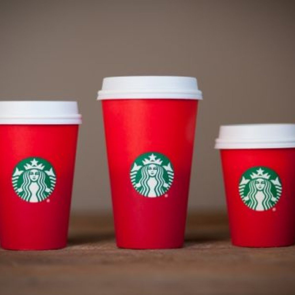 The Single Mom Blog, Starbucks Christmas Cup