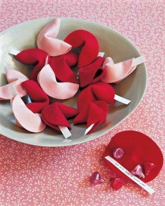 Felt Valentine's Day Fortune Cookies