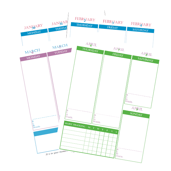 2017 Free Planner Download, The Single Mom Blog, weekly planner, free planner