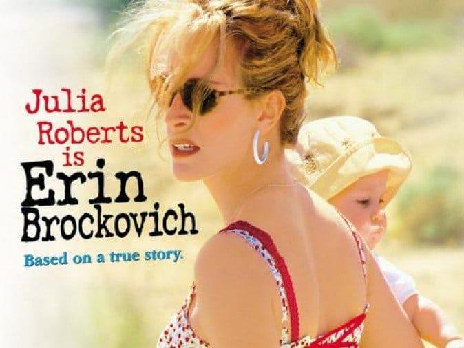 Erin Brockovich, The Single Mom Blog - Inspirational Single Moms in Movies