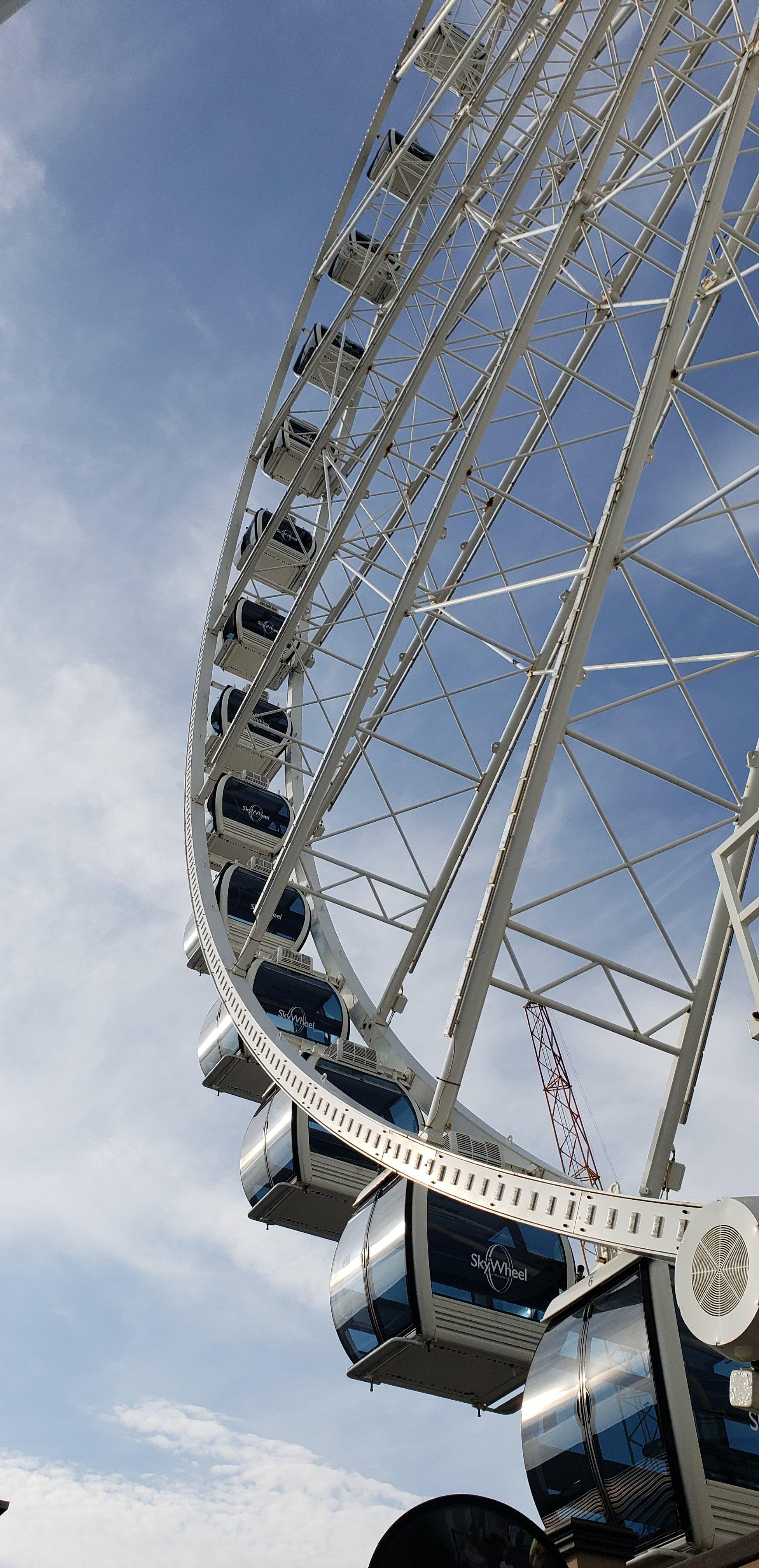 Sky Wheel at Myrtle Beach South Carolina, Summer vacation and seizures