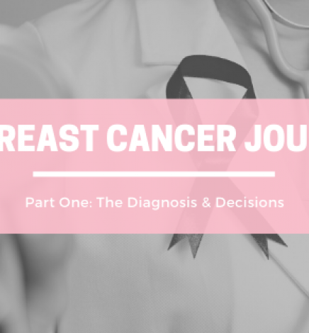 My Breast Cancer Journey – Part 1