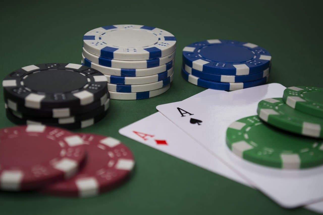 Image of poker chips and cards - The Single Mom Blog